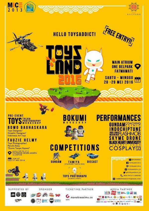 Poster Inti Toysland 2016