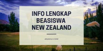 Beasiswa New Zealand