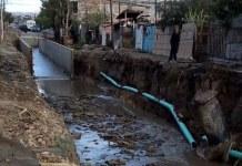 Cespt atiende daños a redes de agua potable