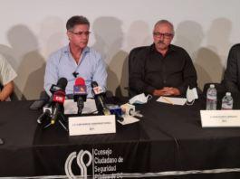 CCSPBC, Juan Manuel Hernández, Amador Rodríguez Lozano, Seguridad, BC