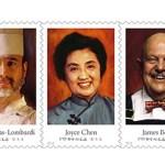 Celebrity Chefs: USPS Forever Stamps
