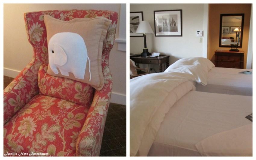 White Elephant Hotel room