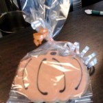 Snacking On A Pumpkin Cookie