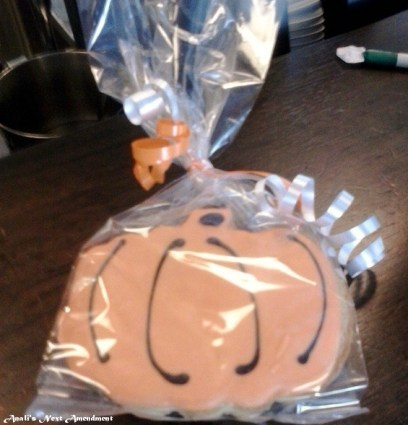 pumpkin cookie for snacking