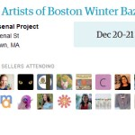 Etsy Artists of Boston Winter Bazaar: December 20 – 21