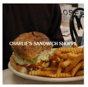 President Obama Charlie's Sandwich Shoppe