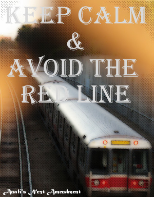 Keep Calm Red Line MBTA