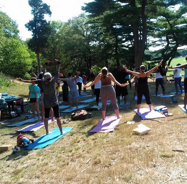 Afro Flow Yoga Class