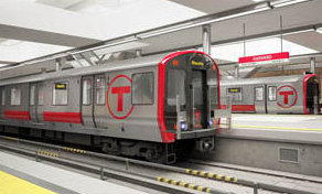 MBTA Red Line Train