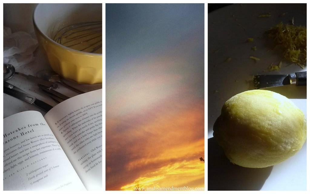 lemon sunset