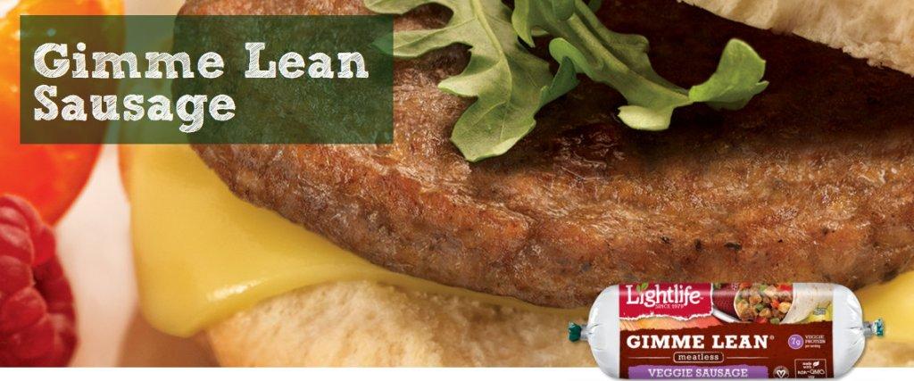 Gimme Lean Veggie Sausage