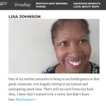Boston Voyager Inspiring Stories from Quincy: Lisa Johnson