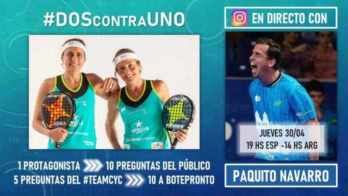 Paquito Navarro este jueves en #DOScontraUNO