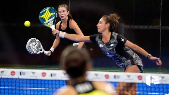 Martita Ortega y Bea González en cuartos de final Estrella Damm València Open 2020