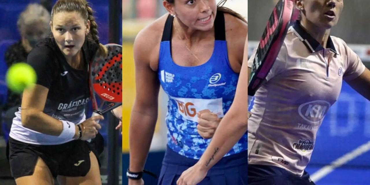 Las tres debutantes femeninas del Master Final