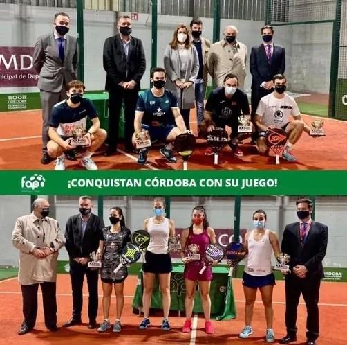 Las parejas ganadoras del Internacional de Córdoba