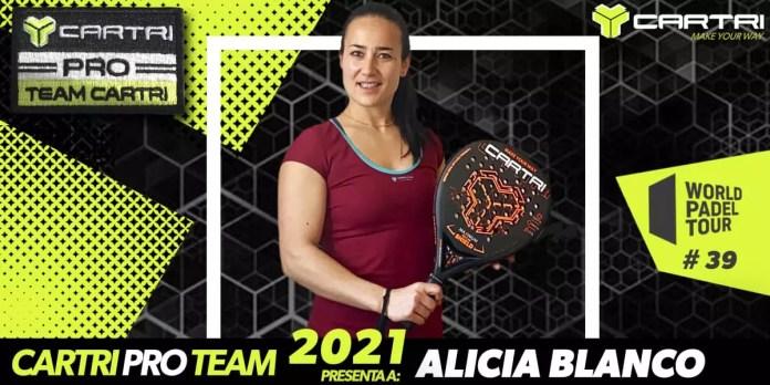 Alicia Blanco, nuevo fichaje del Team Cartri