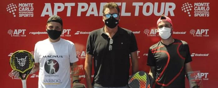 Chiostri y Alfonso se coronan en el Paraguay Master