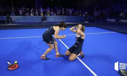 Paula Josemaría y Ariana Sánchez campeonas del Adeslas Madrid Open