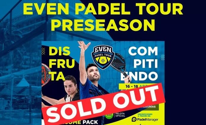 Even Padel Tour bate el récord de suscripciones en su primer torneo de pretemporada