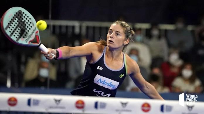 Alejandra Salazar en la final del Lugo Open