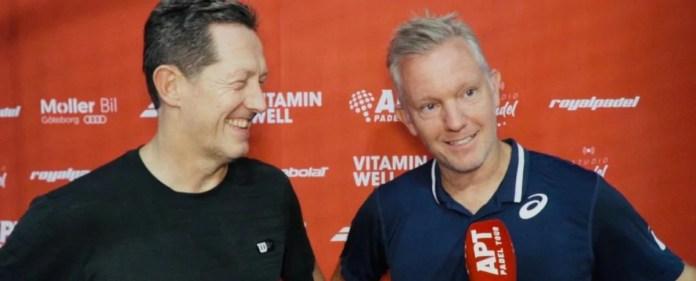 Thomas Johansson y Jonas Björkman llegan a cuadro final