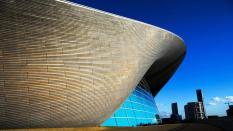 London Aquatics Centre, obra de Zaha Hadid