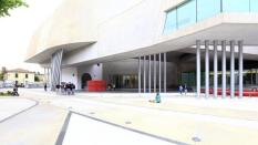 National Museum of the 21st Century Arts, obra de Zaha Hadid