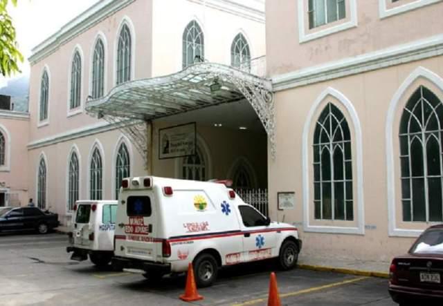 Fuertes lluvias también afectaron al Hospital Vargas en Caracas