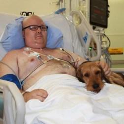El hospital Juravinski en Ontario, Canadá, permite que las mascotas visiten a sus humanos seriamente enfermos