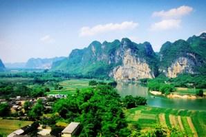 Zuojiang Huashan, en China