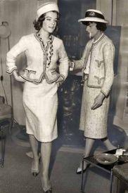 Traje tweed de Chanel