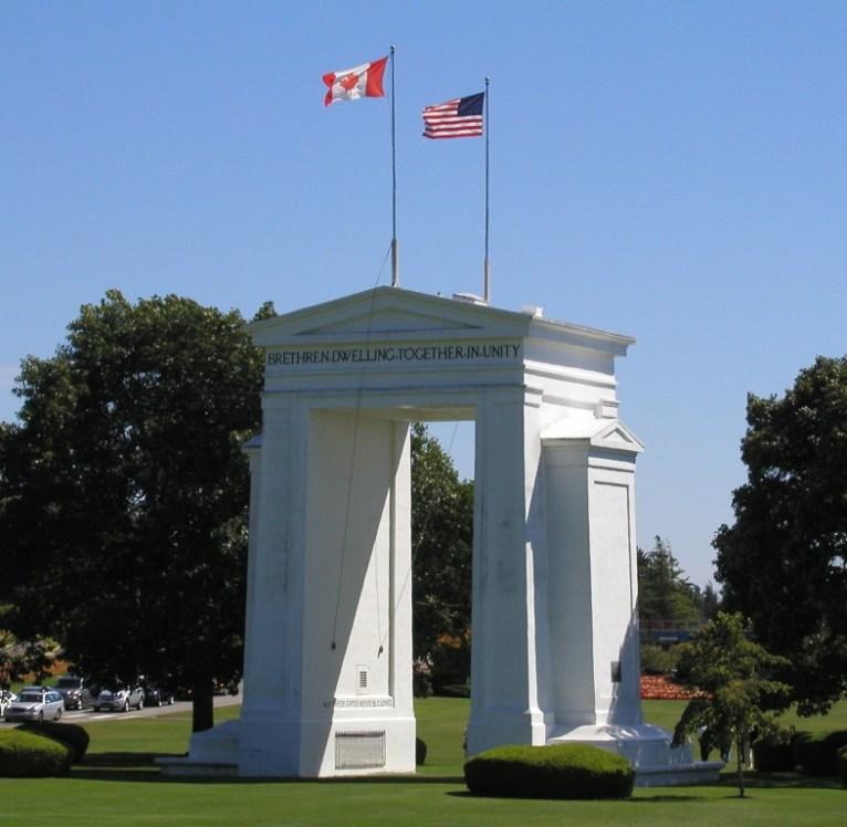 Celebra la paz entre Canadá y Estados Unidos