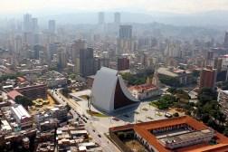 Vista general del Mausoleo del Libertador y del Panteón Nacional de Venezuela