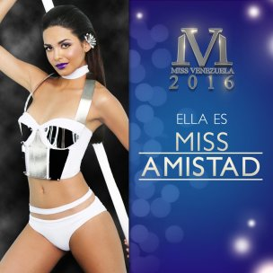 Miss Táchira, Miss Amistad 2016 / Foto: @missvenezuela