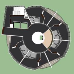 Distribución de la zona hotelera Humboldt