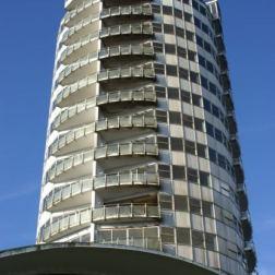 Edificio circular del Hotel Humboldt
