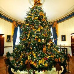 Árbol navideño de la Casa Blanca en 2009
