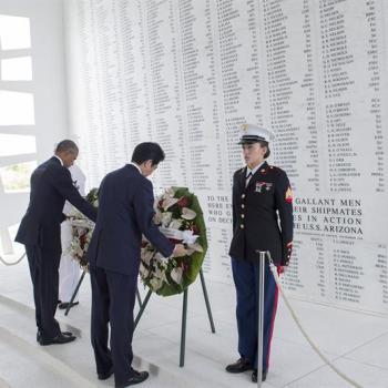 Obama y Abe visitaron Pearl Harbor