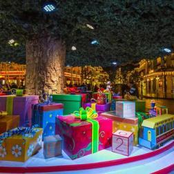 Árbol de Navidad en Disneyland Paris/ Foto: Disneyland Paris