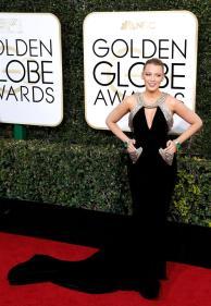 Blake Lively en la ceremonia de los Golden Globes 2017