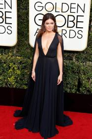 Mandy Moore en la ceremonia de los Golden Globes 2017