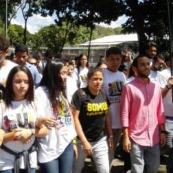 PNB impidió protesta de los estudiantes de la UCV