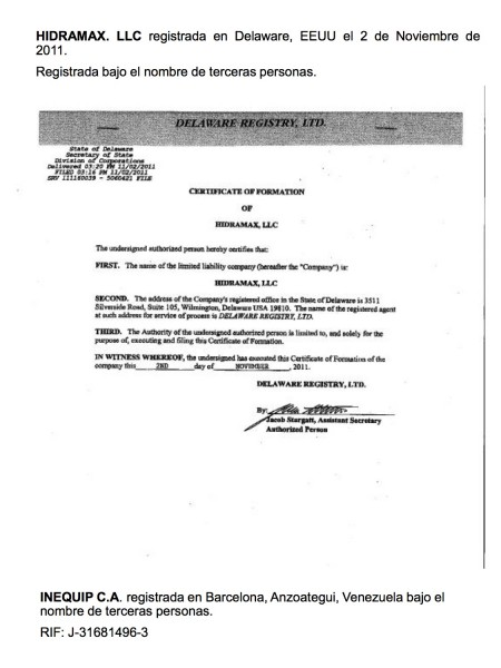 Franco Luis Tortolani Bruzual - 9 relacion de sobornos de pdvsa en eeuu