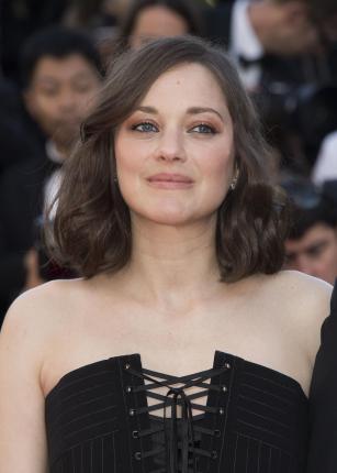 La actriz Marion Cotillard en la alfombra roja del Festival de Cannes