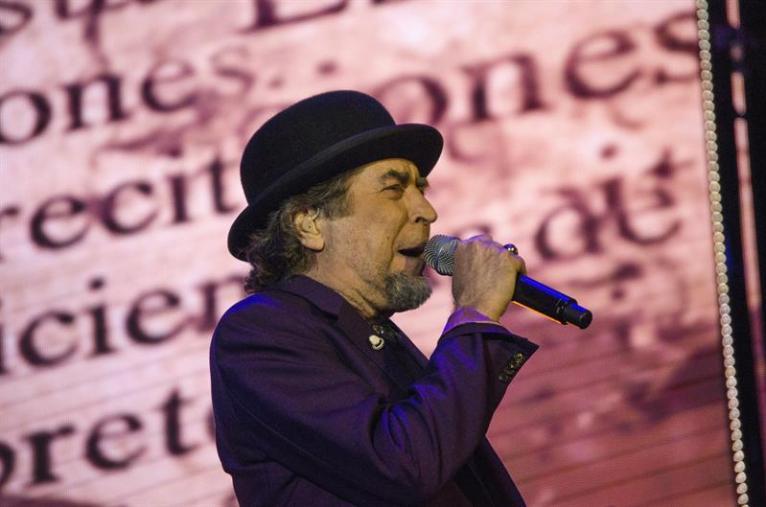 Joaquín Sabina durante concierto en España/ Foto: EFE