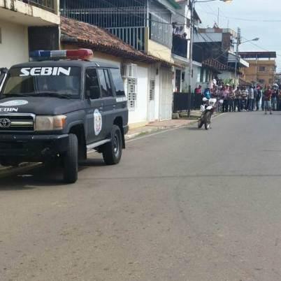 El hecho se registró en la calle Monagas de Tucupido