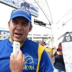 Profesor López repudió las muertes en protesta/foto: Corresponsalía