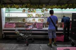 Supermercados ante la escasez Foto: EFE