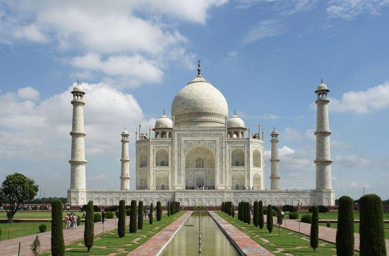 Taj Mahal, una de las 7 maravillas del mundo